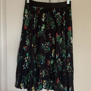Express pleated skirt xs